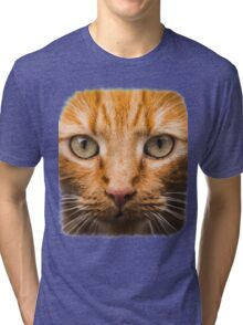 GTA 5 - cat shirt (I'm Not a Hipster) Tri-blend T-Shirt
