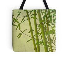 Zen bamboo abstract pattern with retro grunge feel Tote Bag