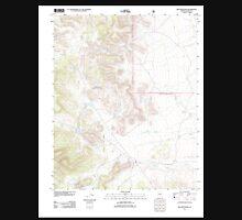 USGS TOPO Map Arizona AZ Red Mountain 20120508 TM Unisex T-Shirt