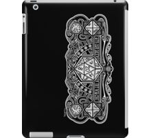 Dice Deco D20 for Dark Items! iPad Case/Skin