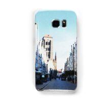 Gdansk old town in watercolor Samsung Galaxy Case/Skin