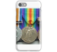 Granddad's WW1 Medals iPhone Case/Skin