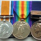 Granddad's WW1 Medals by Woodie