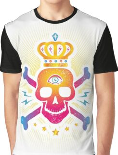 Skull with eye Graphic T-Shirt