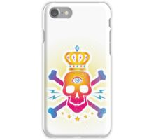 Skull with eye iPhone Case/Skin