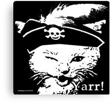 Pussy Pirate Canvas Print