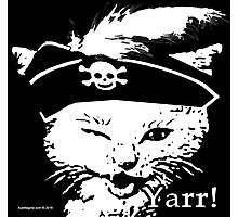 Pussy Pirate Photographic Print