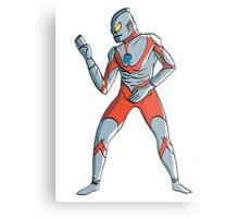Ultraman Metal Print