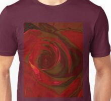 Big Red Rose Unisex T-Shirt
