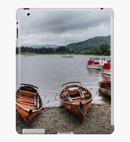 Ambleside Boats iPad Case/Skin