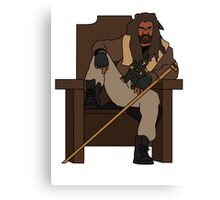 The Walking Dead Ezekiel The Kingdom Canvas Print