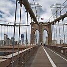 brooklyn bridge by paolo amiotti