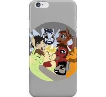 Hockey Ruining Ponies Hug iPhone Case/Skin