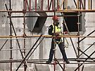 Construction worker by awefaul