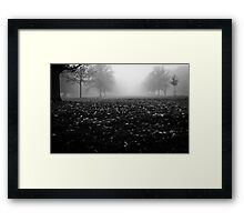 Unsolved Mystery Framed Print