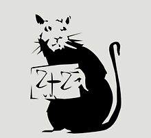 BANKSY RAT 2+2 Unisex T-Shirt