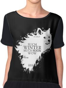 Game of doge Game of Thrones Chiffon Top