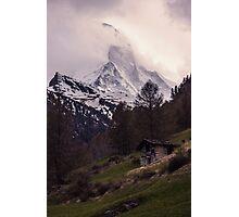 Mountains Peak Photographic Print