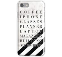 Empire Building Accoutrements  iPhone Case/Skin