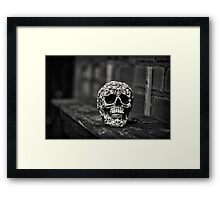 'Skully' The Skull... Framed Print