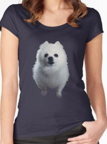 Gabe the Dog Women's Fitted Scoop T-Shirt