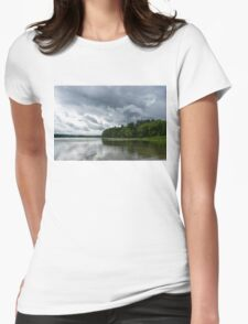 Upcoming Storm  Womens Fitted T-Shirt