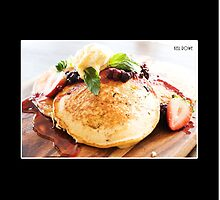 Berry pancakes  by Kell Jeater