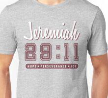 Jeremiah 29-11 Red Varsity Unisex T-Shirt