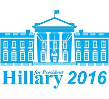 Hillary Clinton For President Photographic Print