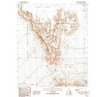USGS TOPO Map Arizona AZ Childs Mountain 310850 1990 24000 Photographic Print