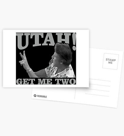 utah get me two Postcards