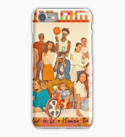 Glass Animals - How to be a Human Being iPhone Case/Skin