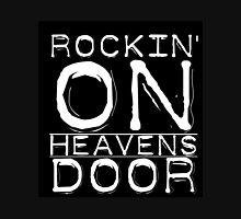 Music Lyrics Rocking On Heavens Door Unisex T-Shirt