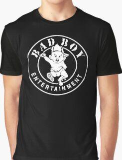 -MUSIC- Bad Boy Records Graphic T-Shirt