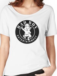 -MUSIC- Bad Boy Records Women's Relaxed Fit T-Shirt