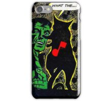 What The...? iPhone Case/Skin