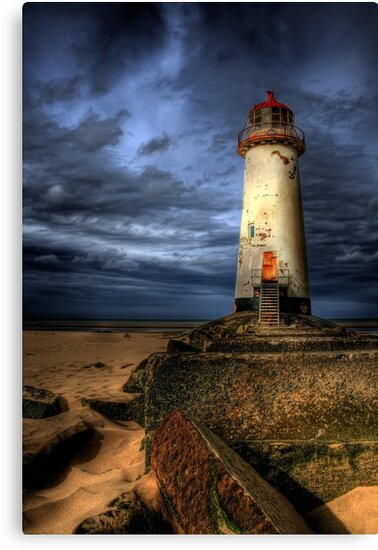 The Abandoned Lighthouse by Adrian Evans