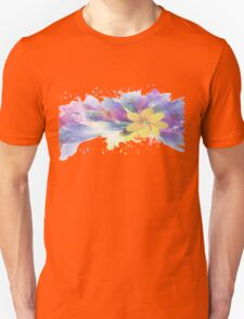 Yellow Lily in A Watercolor Garden Unisex T-Shirt