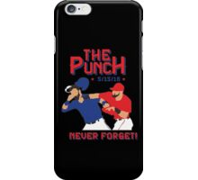 the punch iPhone Case/Skin