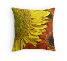 Brilliant Autumn Throw Pillow