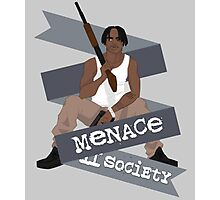 -MOVIES- O'Dog Menace II Society Photographic Print