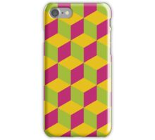 Colorful hexagons iPhone Case/Skin