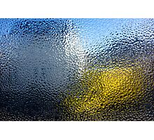 Condensation 03 - White House and Yellow Lorry Photographic Print