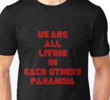 Mr Robot Paranoia Unisex T-Shirt