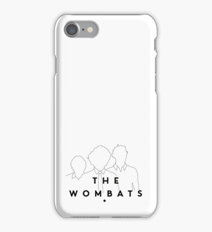 The Wombats iPhone Case/Skin