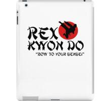 Rex Kwon Do - Bow to your sensei iPad Case/Skin