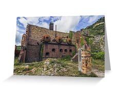 Porth Wen Brickworks Greeting Card