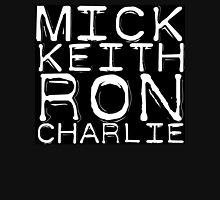 The Rolling Stones Mick Keith Ron Charlie Unisex T-Shirt