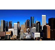 Downtown Houston Photographic Print