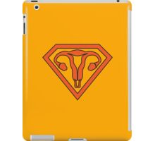 Uterus Hero Orange iPad Case/Skin